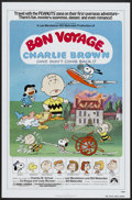 "Movie Posters:Animated, Bon Voyage, Charlie Brown (Paramount, 1980). One Sheet (27"" X 41"")and Pressbook (8.5"" X 11""). Animated.... (Total: 2 Items)"