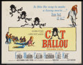 "Movie Posters:Comedy, Cat Ballou (Columbia, 1965). Title Lobby Card and Lobby Card (11"" X 14""). Comedy...."
