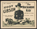 "Movie Posters:War, The Buckaroo Kid (Universal, 1926). Title Lobby Card (11"" X 14"").Western...."