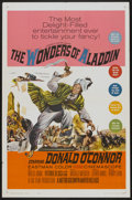 """Movie Posters:Fantasy, The Wonders of Aladdin (MGM, 1961). One Sheet (27"""" X 41"""").Fantasy...."""
