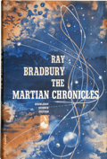 Books:Signed Editions, Ray Bradbury. The Martian Chronicles - Inscribed.Garden City: Doubleday & Company, Inc., 1950....
