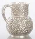 Silver Holloware, American:Pitchers, AN AMERICAN SILVER PITCHER. Tiffany & Co., New York, New York,circa 1877. Marks: TIFFANY & CO., 4706 MAKERS 224,STERLING...
