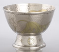Silver Holloware, American:Bowls, AN AMERICAN SILVER AND SILVER GILT ICE BOWL. Tiffany & Co., NewYork, New York, circa 1877. Marks: TIFFANY & CO., 4780MAK...