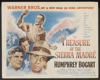 """The Treasure of the Sierra Madre (Warner Brothers, 1948). Title Lobby Card (11"""" X 14""""). Drama"""