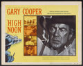 "Movie Posters:Western, High Noon (United Artists, 1952). Title Lobby Card (11"" X 14""). Western...."