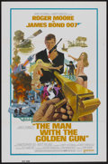 "Movie Posters:James Bond, The Man With the Golden Gun (United Artists, 1974). One Sheet (27""X 41""). James Bond...."