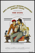 """Movie Posters:Crime, The Sting (Universal, 1974). One Sheet (27"""" X 41"""") Flat-Folded. Crime...."""