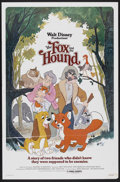 "Movie Posters:Animated, The Fox and the Hound (Buena Vista, 1981). One Sheet (27"" X 41"")and Pressbooks (2) (14.5"" X 17"") and (10.5"" X 14""). Animate...(Total: 3 Items)"