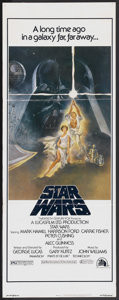 """Movie Posters:Science Fiction, Star Wars (20th Century Fox, 1977). Insert (14"""" X 36""""). ScienceFiction...."""