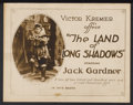 "Movie Posters:Adventure, The Land of Long Shadows Lot (K-E-S-E Service, 1917). Title LobbyCard and Lobby Cards (3) (11"" X 14"") and (8"" X 10""). Adven...(Total: 4 Items)"