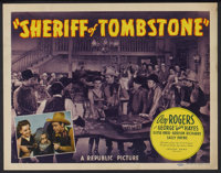 "Sheriff of Tombstone (Republic, 1941). Lobby Card Set of 8 (11"" X 14""). Western.... (Total: 8 Items)"