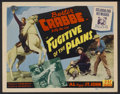 "Movie Posters:Western, Fugitive of the Plains Lot (PRC, 1943). Title Lobby Cards (2) and Lobby Cards (3) (11"" X 14""). Western.... (Total: 5 Items)"