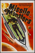 """Movie Posters:Science Fiction, Missile Monsters (Republic, 1958). One Sheet (27"""" X 41"""")Flat-Folded. Science Fiction...."""