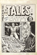 Original Comic Art:Covers, Al Feldstein Tales from the Crypt #21 Cover Original Art(EC, 1950)....