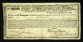 Colonial Notes:Massachusetts, Massachusetts Commodity Bond January 1, 1780 Fine-Very Fine....