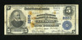 National Bank Notes:Maine, Lewiston, ME - $5 1902 Plain Back Fr. 605 The Manufacturers NB Ch.# 2260. ...