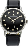 "Timepieces:Wristwatch, Jaeger LeCoultre ""Club"" Men's Stainless Steel Wristwatch, circa 1960. ..."
