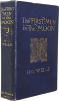 Books:First Editions, H. G. Wells. The First Men in the Moon. London: GeorgeNewnes, Limited, 1901....