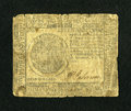 Colonial Notes:Continental Congress Issues, Continental Currency February 26, 1777 $7 Very Good....