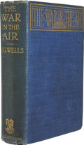 Books:First Editions, H. G. Wells. The War in the Air. London: George Bell andSons, 1908....