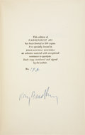 Books:Signed Editions, Ray Bradbury. Fahrenheit 451 - In the Asbestos Binding,Signed. New York: Ballantine Books, 1953....
