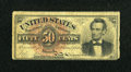 Fr. 1374 50c Fourth Issue Lincoln Very Good