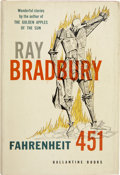 Books:First Editions, Ray Bradbury. Fahrenheit 451. New York: Ballantine Books,1953....
