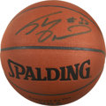 Basketball Collectibles:Balls, Shaquille O'Neal Single Signed Basketball. ...