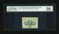Fractional Currency:First Issue, Fr. 1243 10c First Issue PMG Choice About Unc 58....