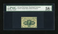 Fractional Currency:First Issue, Fr. 1243 10c First Issue PMG Choice About Unc 58 EPQ....