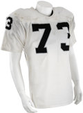 Football Collectibles:Uniforms, 1981 Dave Browning Super Bowl XV Game Worn Jersey....