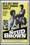 """Movie Posters:Blaxploitation, Dynamite Brothers (Cinemation Industries, 1974). One Sheet (27"""" X41""""). Blaxploitation. Also known as Stud Brown. ..."""