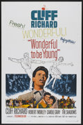"Movie Posters:Rock and Roll, Wonderful To Be Young (Paramount, 1961). One Sheet (27"" X 41"").Rock and Roll...."
