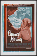 "Movie Posters:Mystery, Chance Meeting (Paramount, 1960). One Sheet (27"" X 41""). Mystery...."