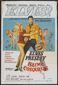 "Movie Posters:Elvis Presley, Tickle Me (Allied Artists, 1965). Argentinean Poster (29"" X 43""). Elvis Presley...."