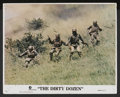 "Movie Posters:War, The Dirty Dozen (MGM, R-1975). Mini Lobby Cards (5) (11"" X 14"").War.... (Total: 5 Items)"