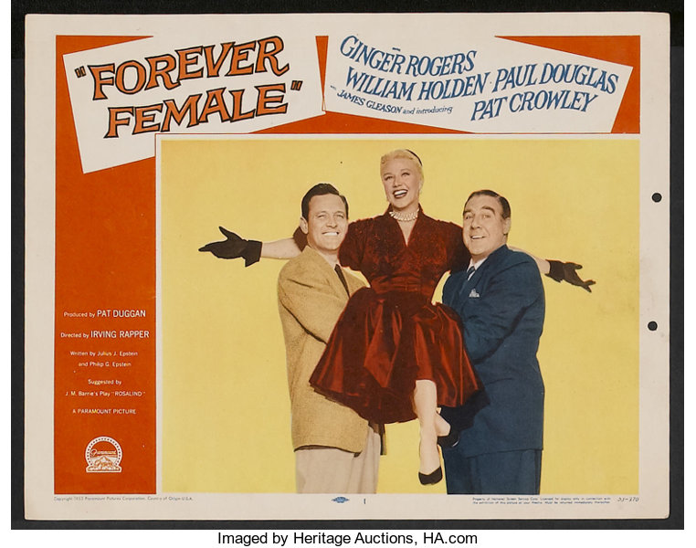"""Forever Female (Paramount, 1953). Lobby Cards (7) (11"""" X 14""""). 
