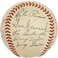 Autographs:Baseballs, 1948 Brooklyn Dodgers Team Signed Baseball....