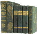 Books:Fiction, Jules Verne. Six Books in English,... (Total: 6 Items)