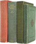 Books:First Editions, H. G. Wells. Four Early Books,... (Total: 4 Items)