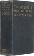 Books:First Editions, A. Conan Doyle. The Return of Sherlock Holmes. London:George Newnes, Ltd., 1905....