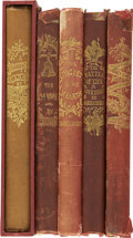 Books:Fiction, Charles Dickens. Five Christmas Books in Original Cloth,... (Total:5 Items)