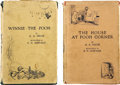 Books:First Editions, A. A. Milne. Two First Edition Winnie the Pooh Books,... (Total: 2Items)