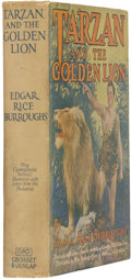 Books:First Editions, Edgar Rice Burroughs. Tarzan and the Golden Lion - ThePhotoplay Edition. New York: Grosset & Dunlap, [n.d., 192...