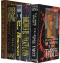Books:First Editions, The First Four Volumes of Stephen King's Dark Tower Series,With Reader's Guide,... (Total: 5 Items)