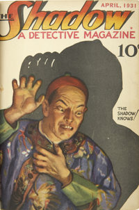 The Shadow (Street & Smith) April 1931-January 1932 Bound Volume - The First Six Issues of the Series.<