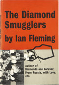 Books:Signed Editions, Ian Fleming. The Diamond Smugglers - With InscribedBookplate. London: Jonathan Cape, [1957]....