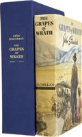 Books:First Editions, John Steinbeck. The Grapes of Wrath. Toronto: MacmillanCompany of Canada, [1939]....