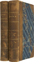 Books:First Editions, Jane Austen. Sense and Sensibility [and] Emma.London: Richard Bentley, 1833.. ... (Total: 2 Items)