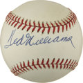 Autographs:Baseballs, Ted Williams Single Signed Baseball....